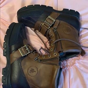 Gently used polo boots